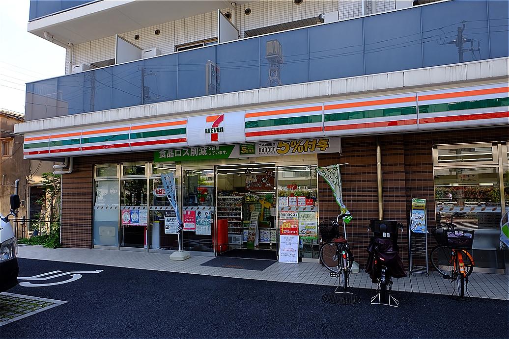 コンビ二:セブンイレブン 江東猿江1丁目店 133m