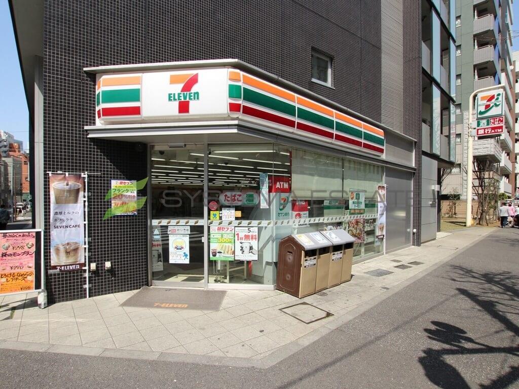 コンビ二:セブンイレブン 千代田岩本町2丁目店 220m