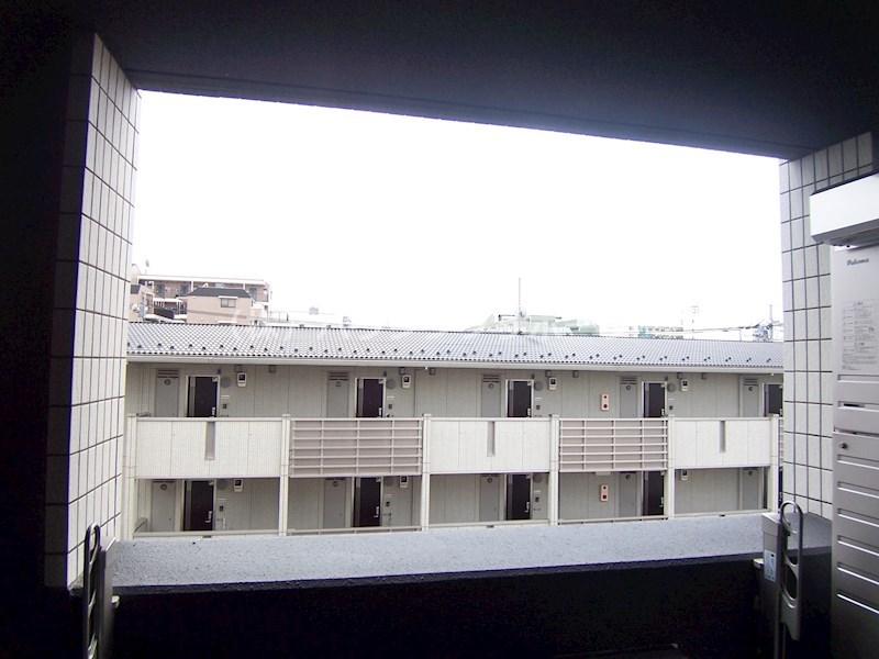 402号室からの眺望です