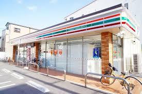コンビ二:セブンイレブン 大阪内代店 8m
