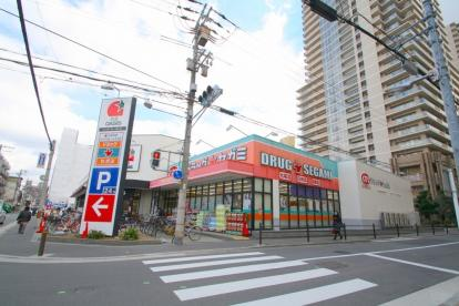 ドラッグストア:ドラッグセガミ野江店 1063m