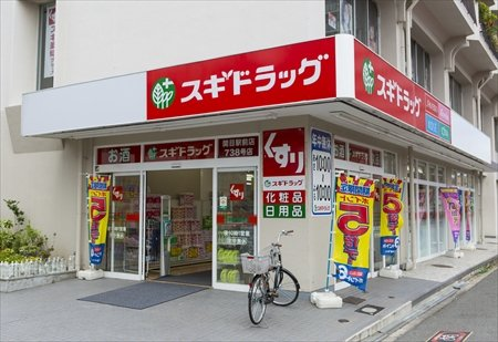 ドラッグストア:スギドラッグ 関目駅前店 1248m