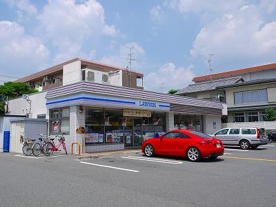 コンビ二:ローソン 上賀茂榊田町店 277m