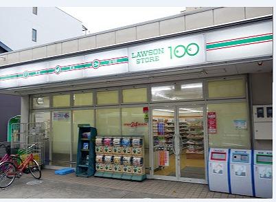 コンビ二:ローソンストア100 LS千本今出川店 63m