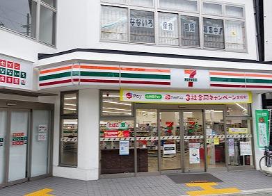 コンビ二:セブンイレブン 京都千本今出川店 113m