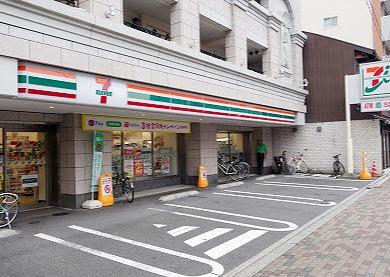 コンビ二:セブンイレブン 京都西陣郵便局店  227m