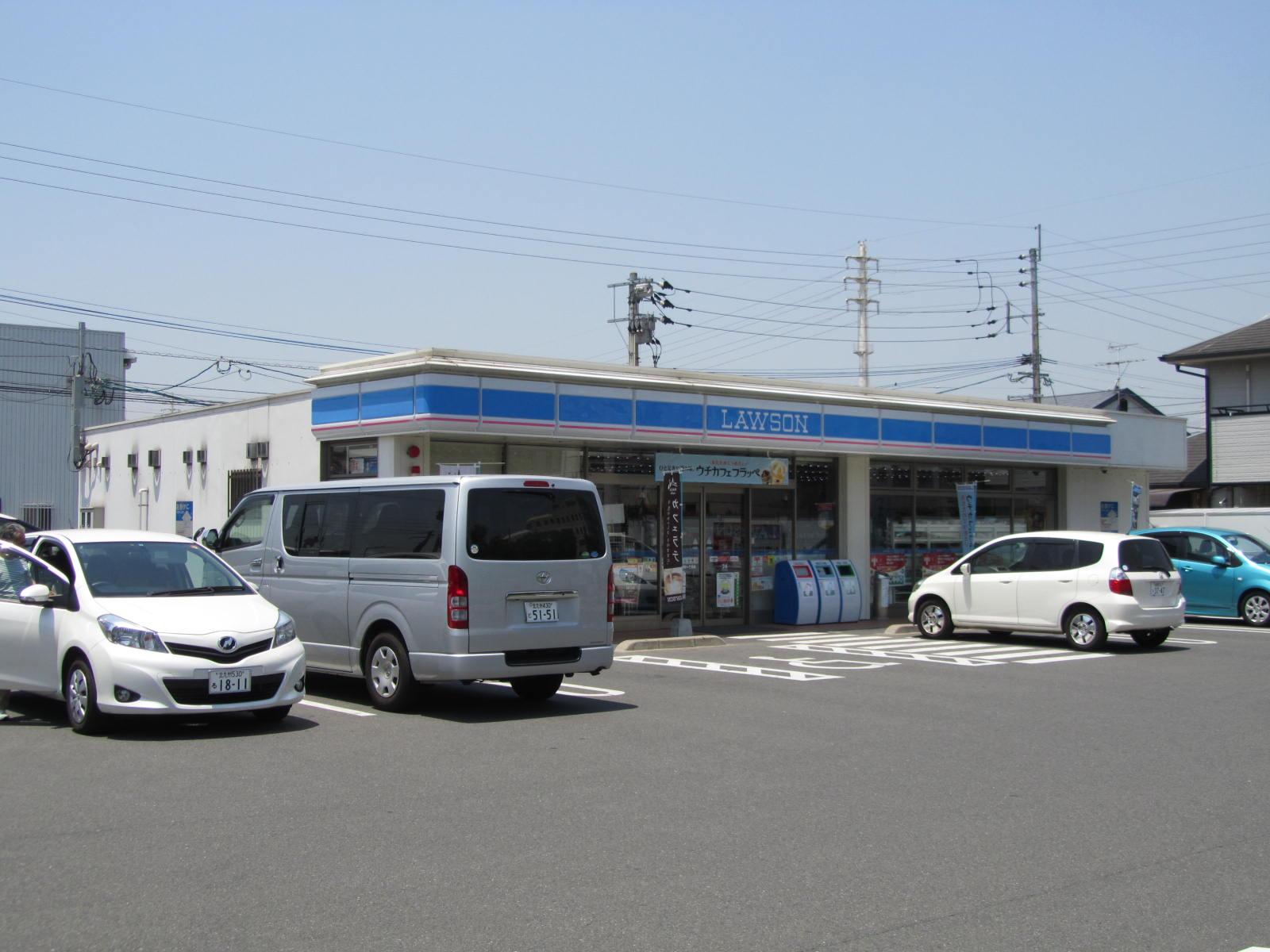 コンビ二:ローソン 八幡下上津役一丁目店 185m