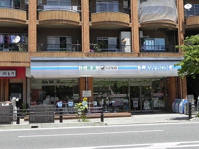 コンビ二:ローソン 東山三条店 342m
