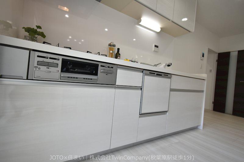 ビルトイン食洗器◆ご多忙な毎日を過ごす主婦の皆様の味方です。