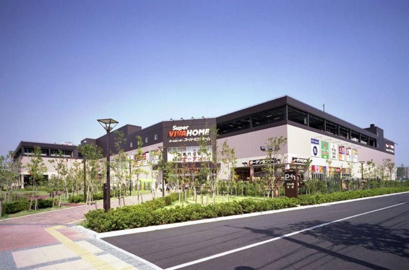 ホームセンター:スーパービバホーム 豊洲店 1390m