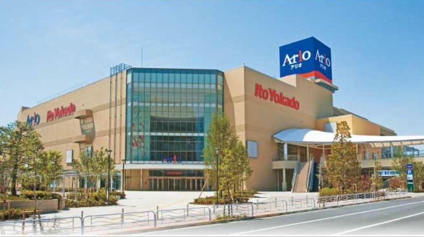 ショッピング施設:アピオ 383m