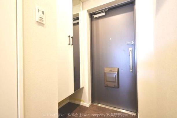 毎日の帰宅が楽しみになる!マイホームへの入り口です。