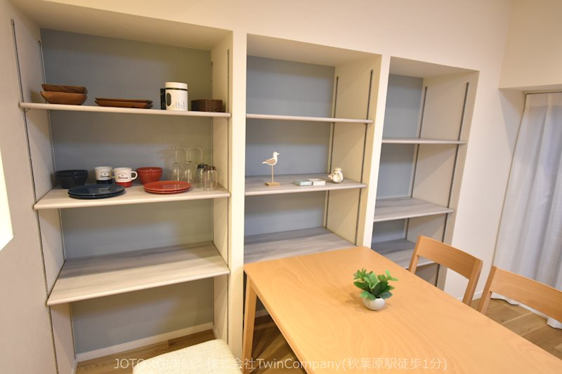 収納スペースもたくさんあり快適に暮らせそう。