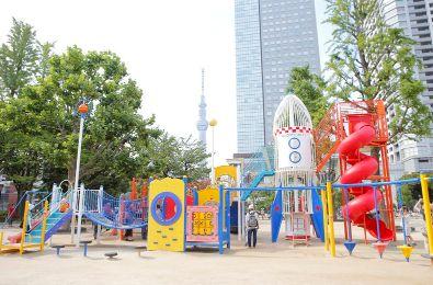 公園:錦糸公園 578m