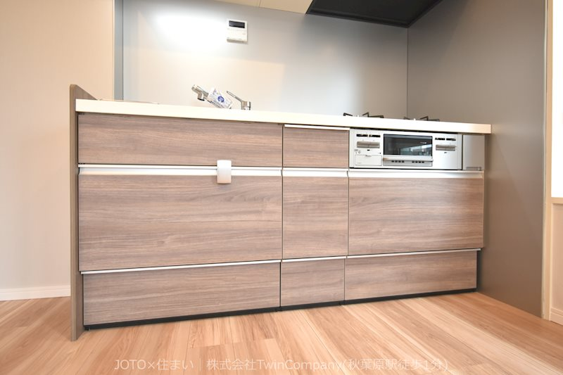LIXIL製システムキッチン新規交換