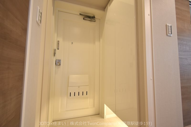 玄関スペース・人感センサーつき