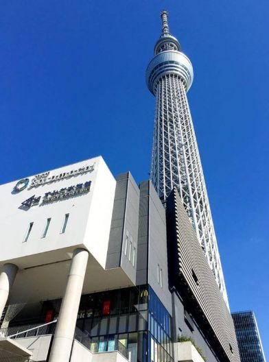 ショッピング施設:東京スカイツリータウン(R) 200m