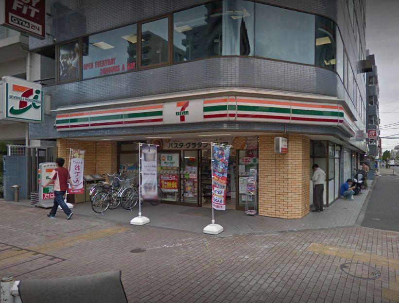 コンビ二:セブンイレブン 墨田吾妻橋3丁目店 232m