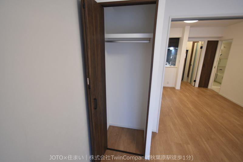 全居室収納有りますので便利です。