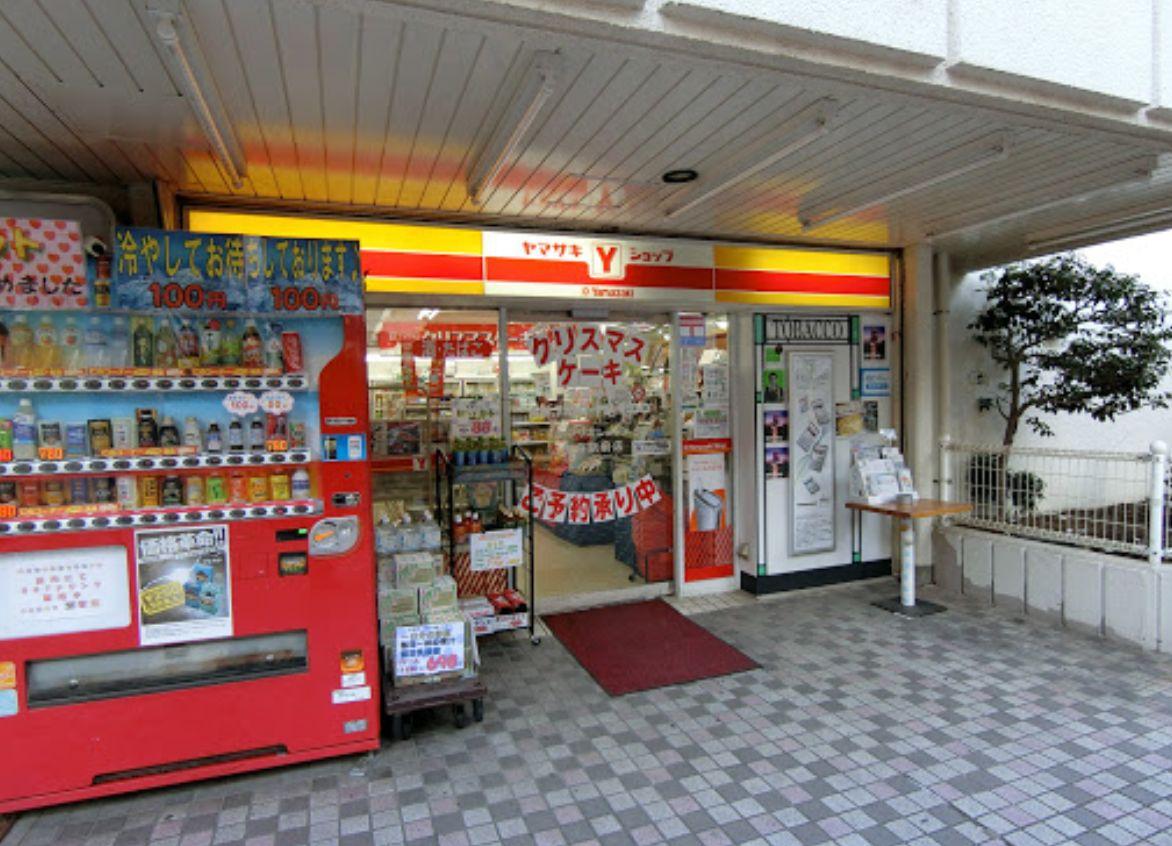 コンビ二:ヤマザキショップ曳舟駅前店 2m