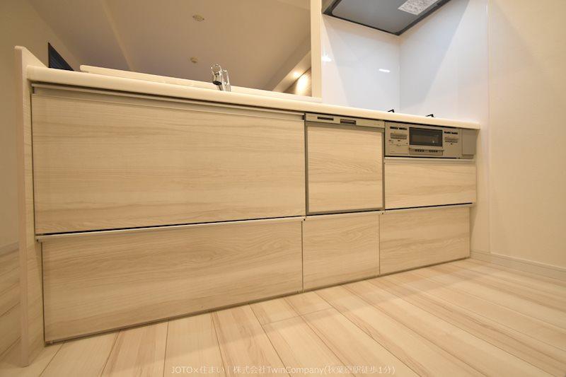 細かい使い勝手に配慮した設計で、キッチンでの時間をより充実したものにしてくれます