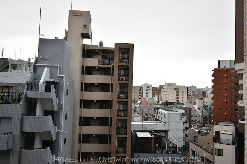 8階部分・バルコニーからの眺望