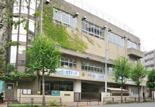 小学校:台東区立金曽木小学校 342m