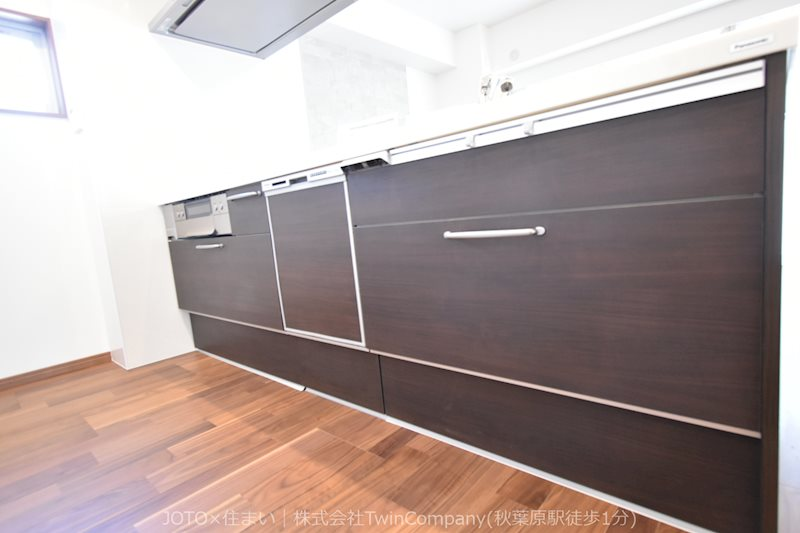 家事の最も強い味方の一つ・・ビルトイン型の食器洗浄乾燥機。