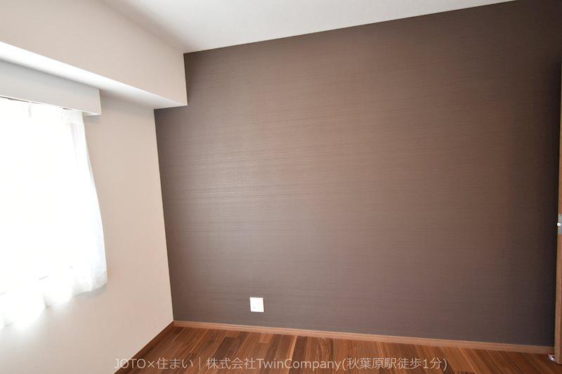 採光もアクセントの一つです。プライベートルームにはやさしい光が射し込む明るい空間