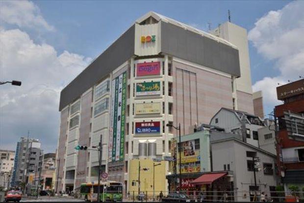 ショッピング施設:浅草ROX 612m
