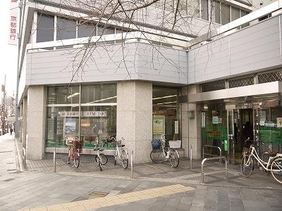 銀行:京都信用金庫西陣支店 491m