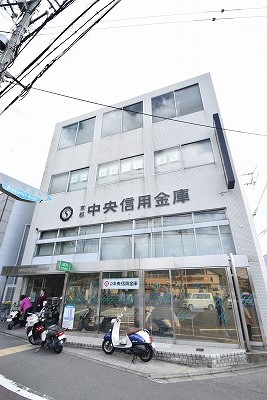 銀行:京都中央信用金庫金閣寺支店 883m