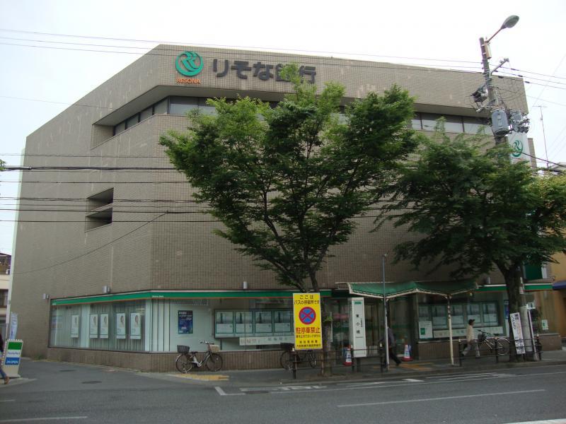 銀行:りそな銀行 鶴橋支店 392m