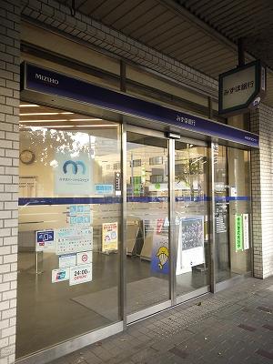 銀行:みずほ銀行出町支店 164m