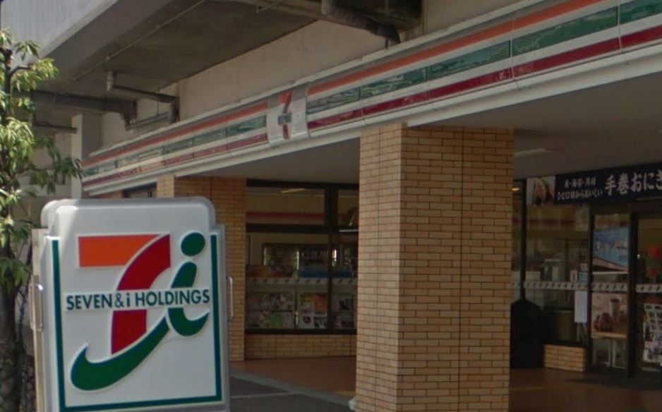 コンビ二:セブンイレブン 大阪片町店 523m