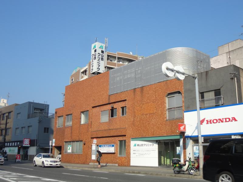 総合病院:晴山会クリニック 613m