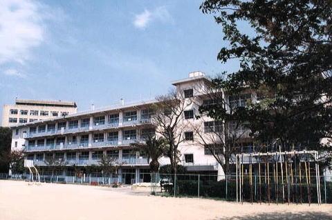 小学校:北九州市立到津小学校 1050m