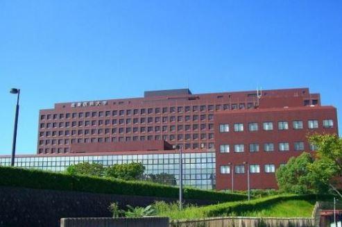 総合病院:産業医科大学 1958m