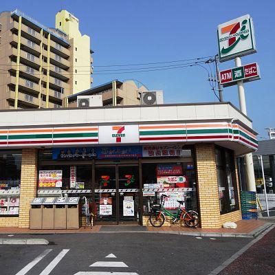 コンビ二:セブンイレブン 小倉木町店 388m 近隣