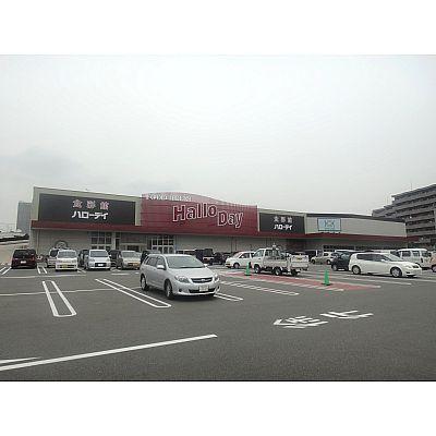 スーパー:ハローデイ 井堀店 484m 近隣
