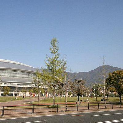 公園:三萩野公園 374m