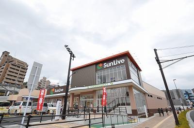 スーパー:SunLive(サンリブ) 黒崎店 502m