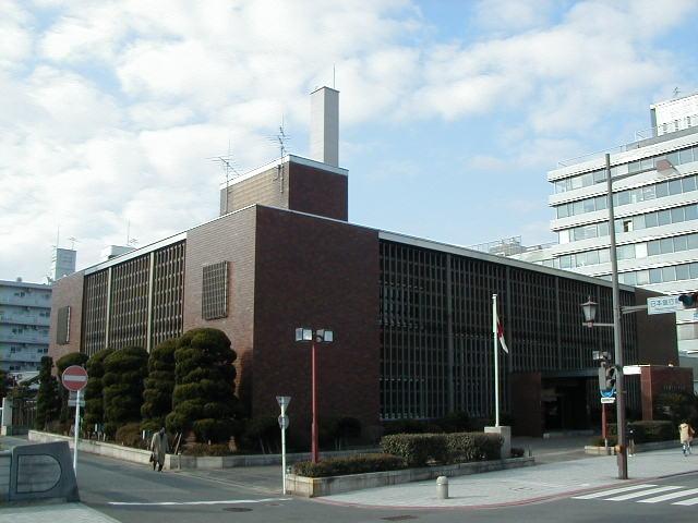 銀行:日本銀行北九州支店 295m