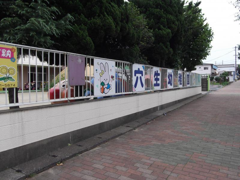 幼稚園:穴生幼稚園 66m