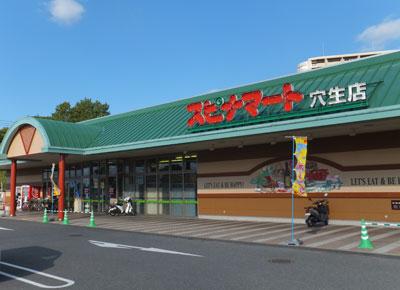 スーパー:株式会社西鉄ストア スピナマート穴生店 672m