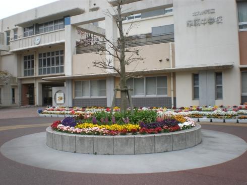 中学校:北九州市立早鞆中学校 1413m