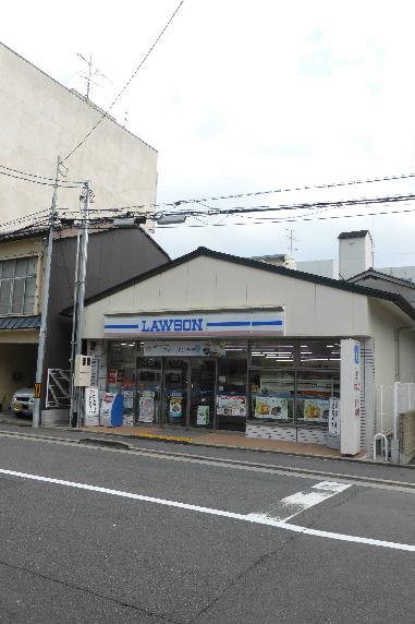 コンビ二:ローソン 高辻柳馬場店 262m